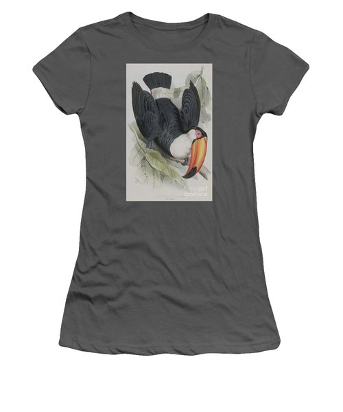 Toco Toucan Women's T-Shirt (Athletic Fit)