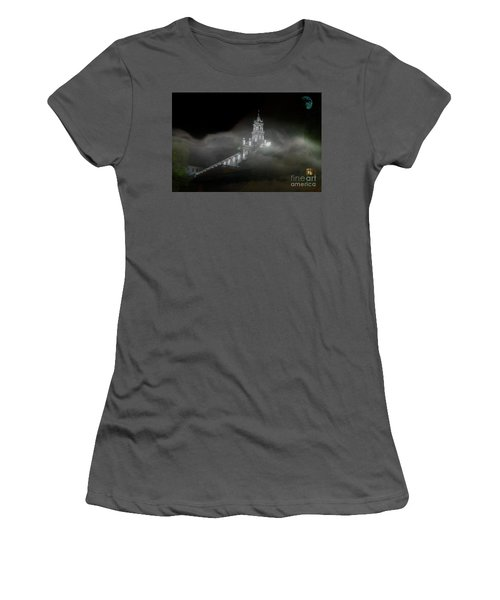 Todos Santos In The Fog Women's T-Shirt (Junior Cut) by Al Bourassa