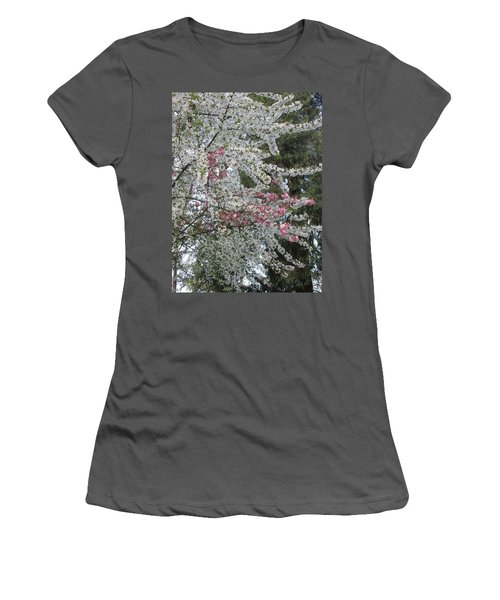 Women's T-Shirt (Junior Cut) featuring the photograph Togetherness by Marie Neder