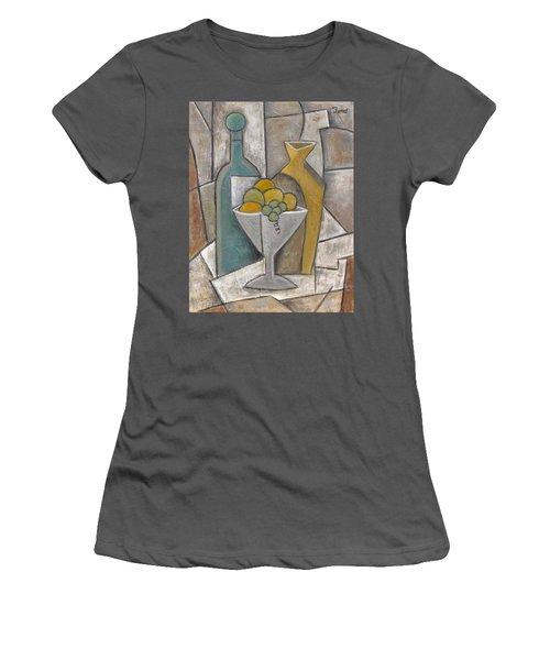 Top Shelf Women's T-Shirt (Junior Cut) by Trish Toro