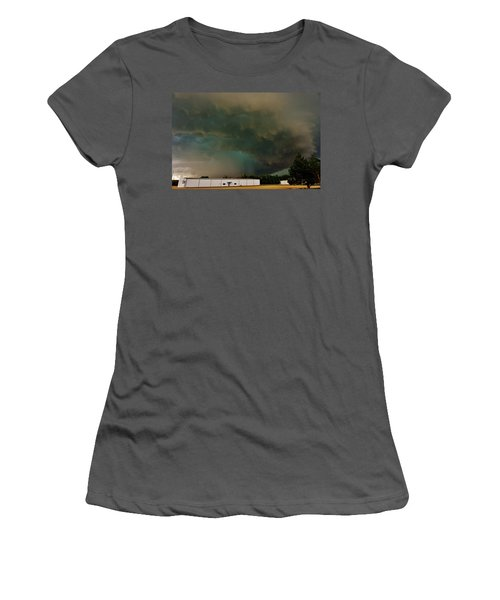 Tornadic Supercell Women's T-Shirt (Athletic Fit)