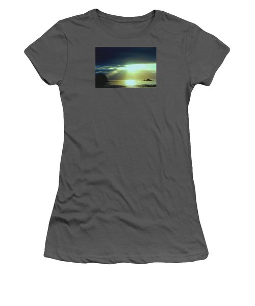 Touched From Above Women's T-Shirt (Athletic Fit)