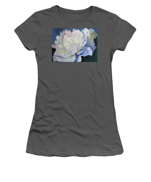 Toward The Light Women's T-Shirt (Athletic Fit)