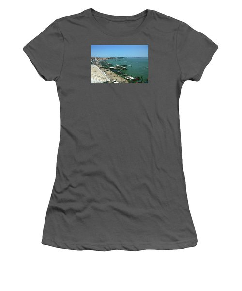 Women's T-Shirt (Athletic Fit) featuring the photograph Towards Giardino by Anne Kotan