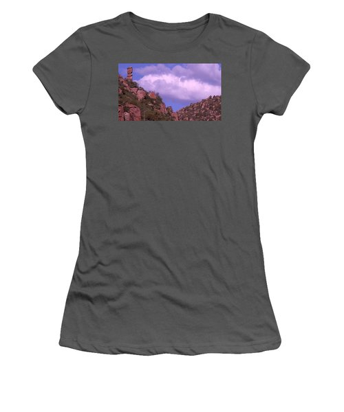 Tower Mountain Women's T-Shirt (Athletic Fit)