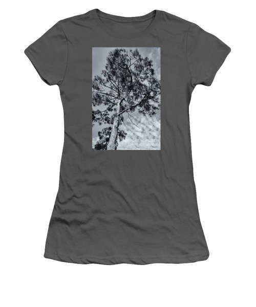 Women's T-Shirt (Junior Cut) featuring the photograph Towering by Linda Lees