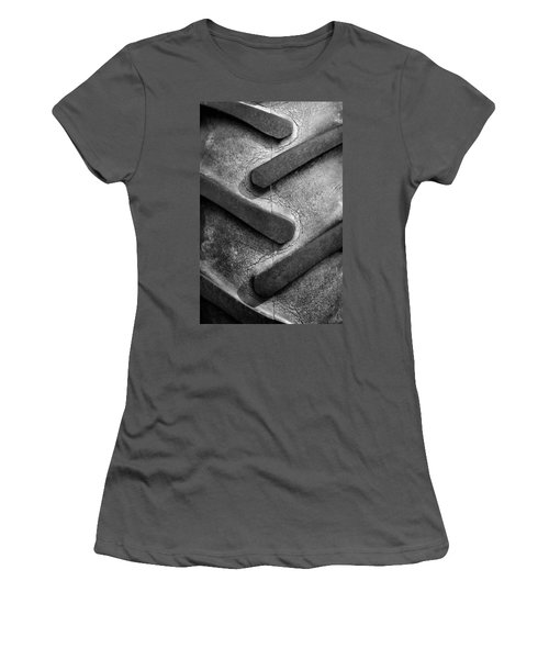 Tractor Tread Women's T-Shirt (Athletic Fit)