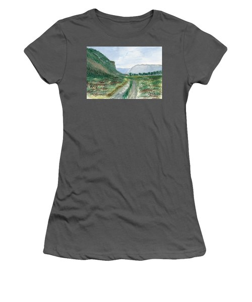 Trail To Canada Women's T-Shirt (Athletic Fit)