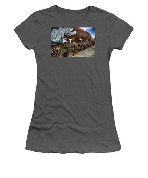 Train Graveyard Uyuni Bolivia 14 Women's T-Shirt (Athletic Fit)