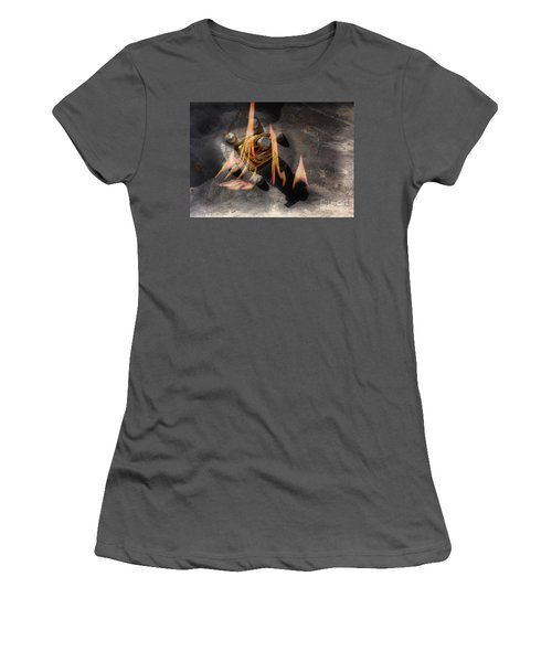 Train Wreck Women's T-Shirt (Athletic Fit)