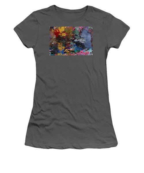 Tranquil Escape-1 Women's T-Shirt (Athletic Fit)