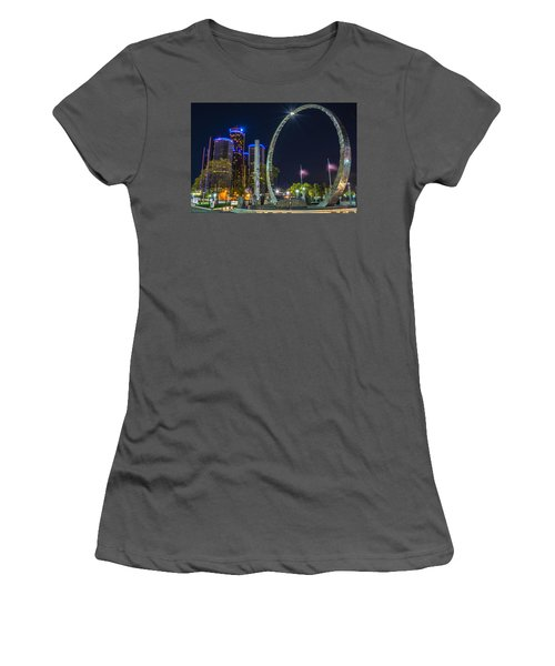 Transcend Detroit  Women's T-Shirt (Athletic Fit)