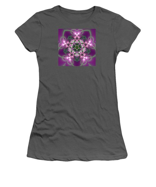 Transition Flower 5 Beats Women's T-Shirt (Junior Cut) by Robert Thalmeier