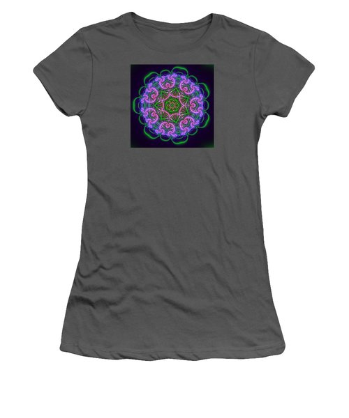 Transition Flower 7 Beats Women's T-Shirt (Junior Cut) by Robert Thalmeier