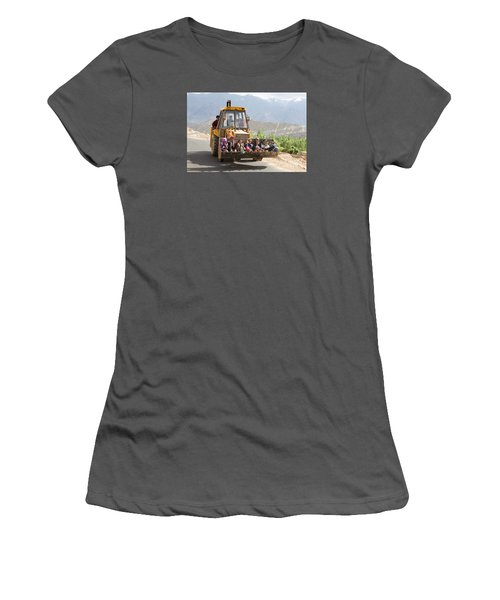 Transport In Ladakh, India Women's T-Shirt (Athletic Fit)