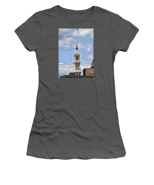 Travelers Tower In Hartford Connecticut Women's T-Shirt (Athletic Fit)