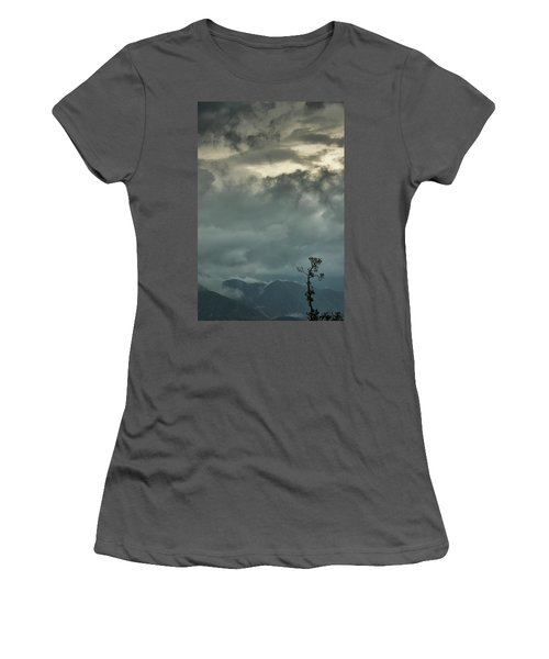 Tree. Bright Light Women's T-Shirt (Athletic Fit)