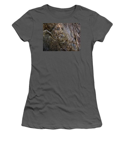 Women's T-Shirt (Junior Cut) featuring the photograph Tree Memories # 19 by Ed Hall