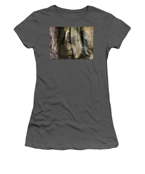 Women's T-Shirt (Junior Cut) featuring the photograph Tree Memories # 24 by Ed Hall