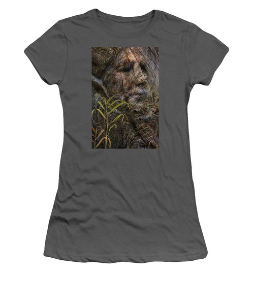 Women's T-Shirt (Junior Cut) featuring the photograph Tree Memories # 39 by Ed Hall