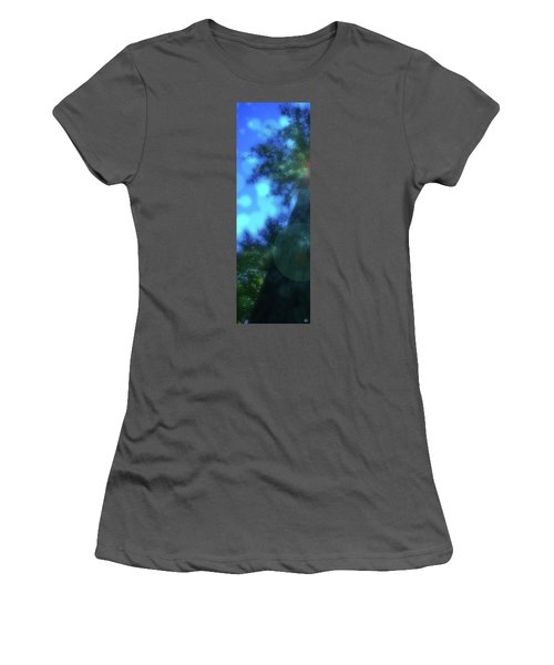 Trees Left Women's T-Shirt (Junior Cut) by Kenneth Armand Johnson