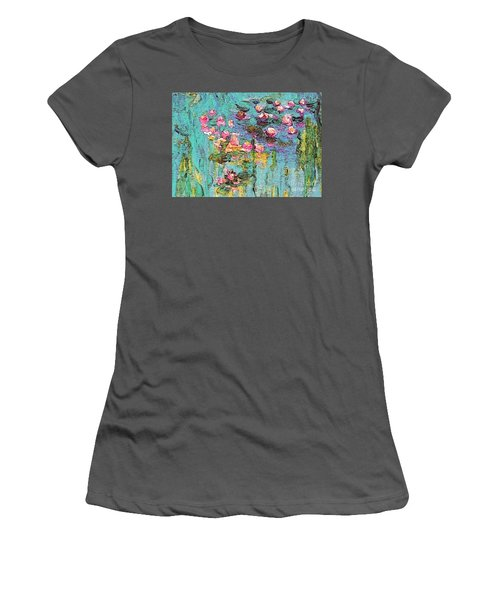 Tribute To Monet II Women's T-Shirt (Athletic Fit)