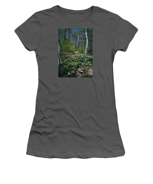 Trillium Woods No. 2 Women's T-Shirt (Athletic Fit)