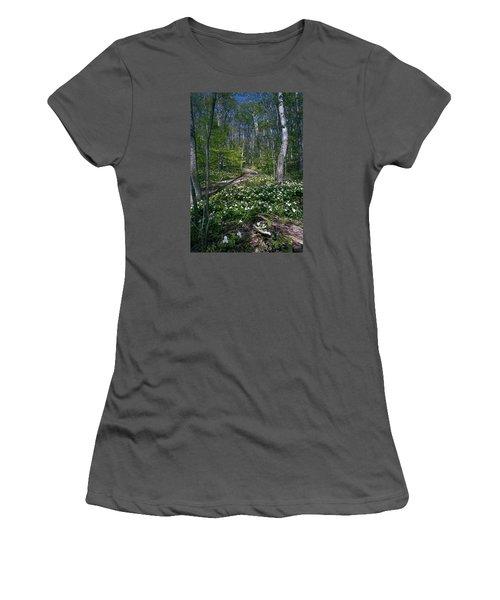Trillium Woods No. 2 Women's T-Shirt (Athletic Fit)
