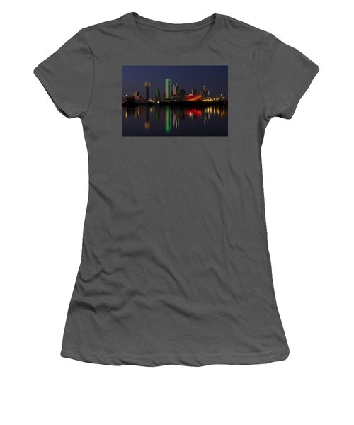 Trinity River Dallas Women's T-Shirt (Athletic Fit)