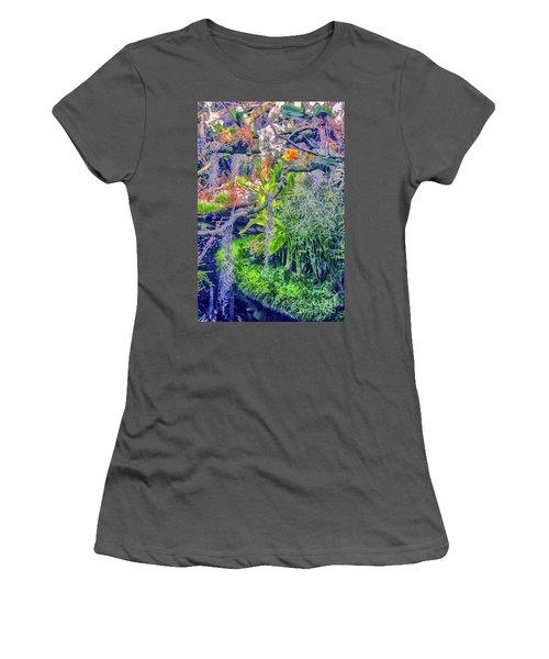 Tropical Garden Women's T-Shirt (Athletic Fit)