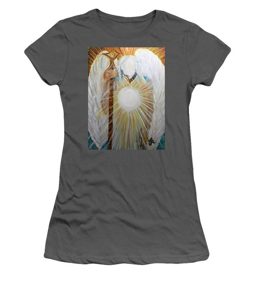 Trust - Michaelarchangel Series Women's T-Shirt (Athletic Fit)