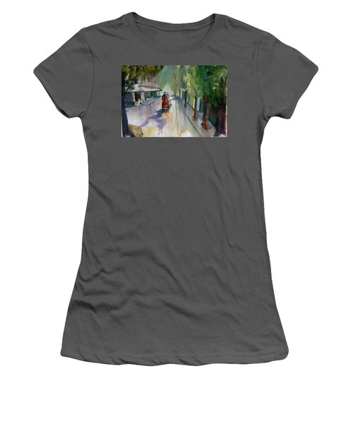 Tudo Street, Saigon 9 Women's T-Shirt (Junior Cut) by Tom Simmons