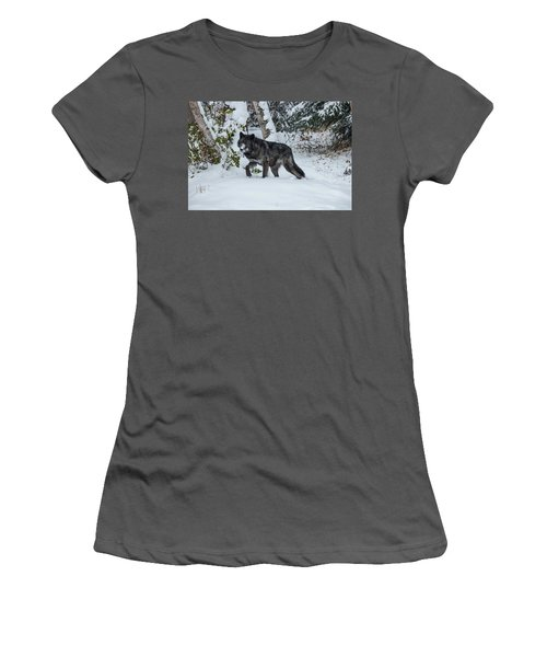 Tundra Wolf 6701 Women's T-Shirt (Athletic Fit)