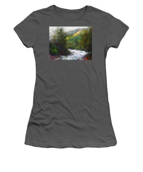 Turbulence Women's T-Shirt (Athletic Fit)
