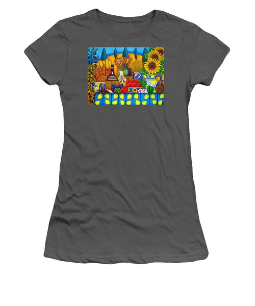 Tuscany Delights Women's T-Shirt (Athletic Fit)