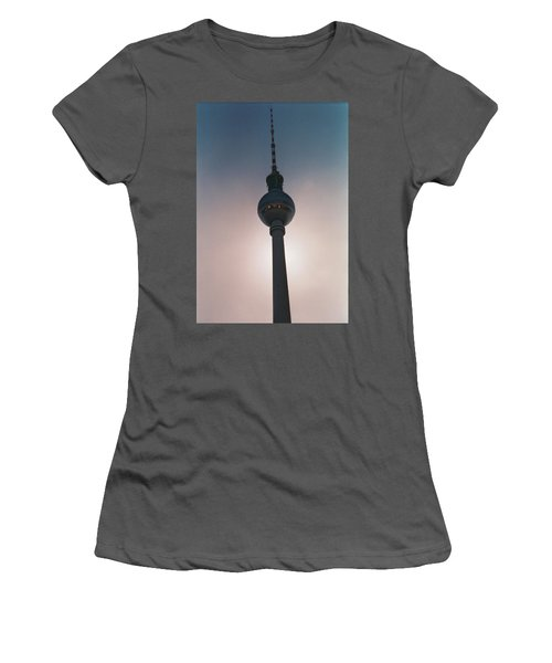 Tv Tower Berlin Women's T-Shirt (Athletic Fit)