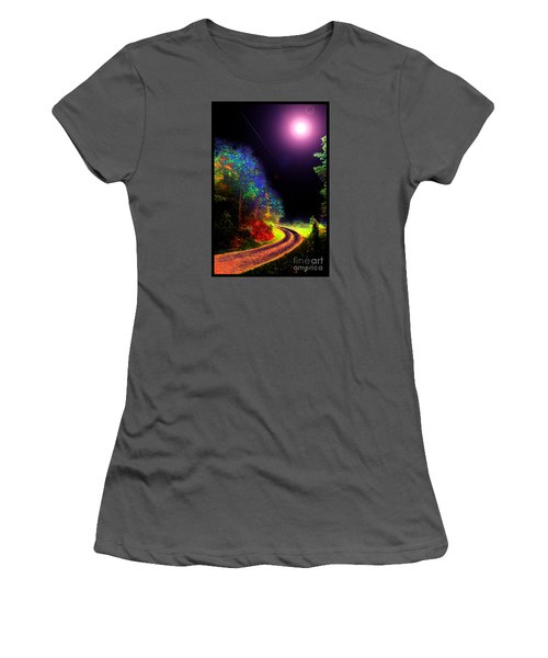 Twelve Dimensions Of Harmonic Delight Women's T-Shirt (Junior Cut) by Susanne Still