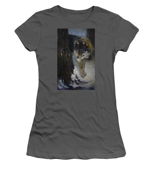 Twilight's Preyer  Women's T-Shirt (Athletic Fit)