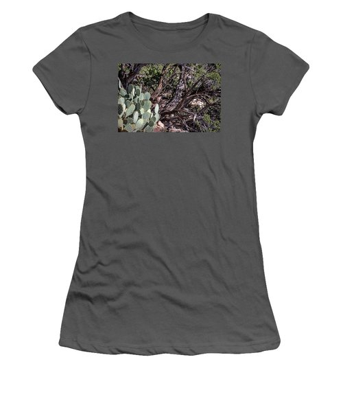 Twisted Women's T-Shirt (Junior Cut) by John Gilbert