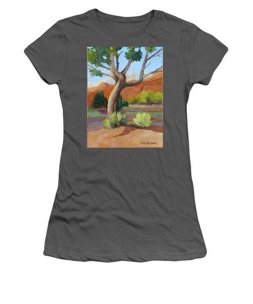 Twisted Women's T-Shirt (Junior Cut) by Susan Woodward