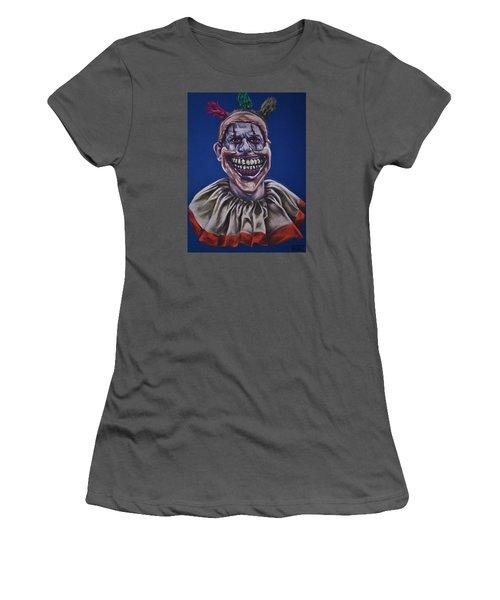 Twisty The Clown  Women's T-Shirt (Athletic Fit)