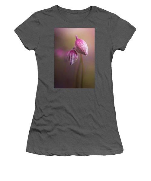 Two Buds Women's T-Shirt (Junior Cut) by Peter Scott
