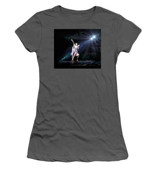 Two Dancers Women's T-Shirt (Athletic Fit)