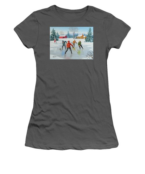 Two On One Women's T-Shirt (Athletic Fit)