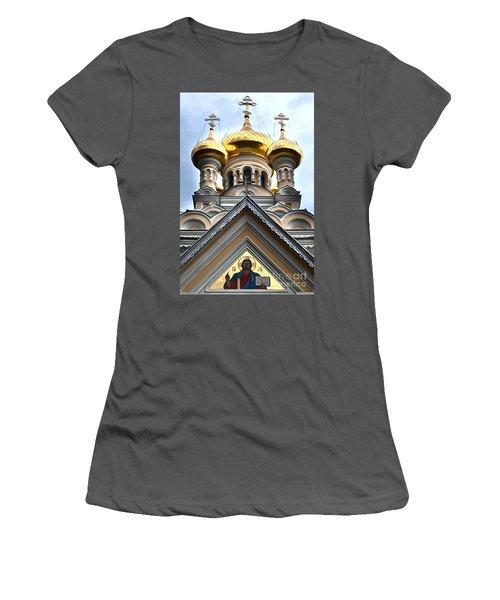 Ukrainian Church Women's T-Shirt (Athletic Fit)