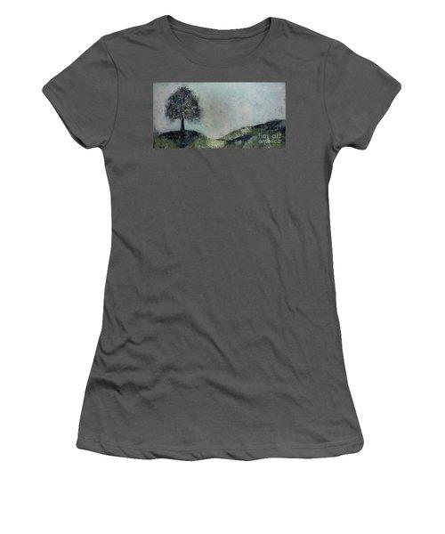 Uncertainty Women's T-Shirt (Athletic Fit)