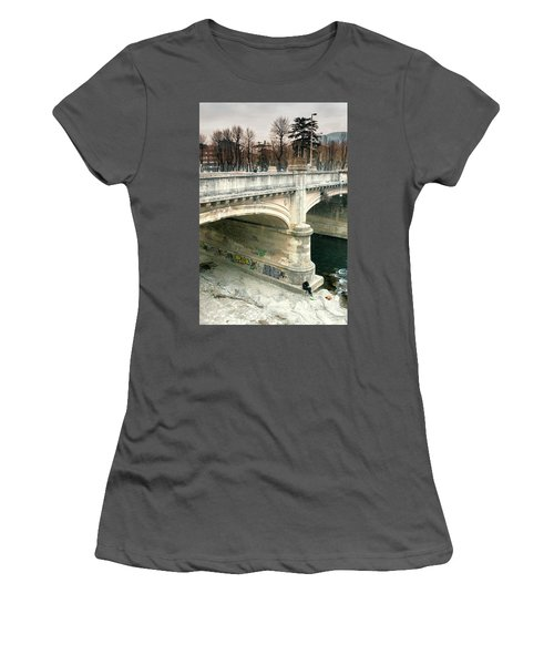 Under The Bridge Women's T-Shirt (Athletic Fit)
