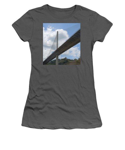 Under The Bridge Through Panama Women's T-Shirt (Athletic Fit)