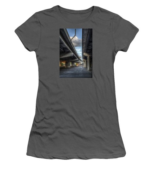 Under The Overpass II Women's T-Shirt (Athletic Fit)
