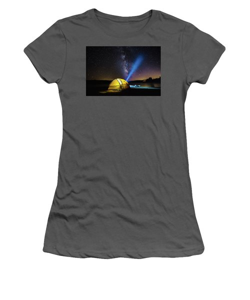 Under The Stars Women's T-Shirt (Athletic Fit)